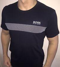 Hugo Boss BOSS 2016 Mens t-shirt Top Green Label BNWT New Navy Blue size XL
