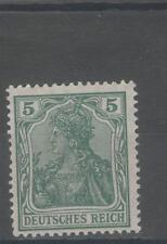 Ungeprüfte postfrische Briefmarken aus dem deutschen Reich (1900-1918)