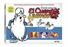 Érase Una Vez El Cuerpo Humano (DVD, 2013, Set de 5 Discos)