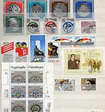 DDR 3. Jahresdrittel 1986 kpl postfrisch