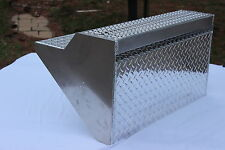 Peterbilt  Battery Box Cover --- Aluminum Step