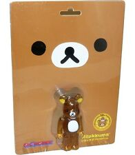 Medicom San-X Be@rbrick Bearbrick Rilakkuma Clear Color Ver. 100% Figure