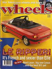 Wheels Nov 94 306 Cabro 911 C4 KJ Laser 200SX LS400