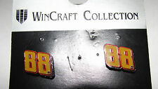 DALE EARNHARDT JR  #88 NASCAR POST EARRINGS ON JEWELRY CARD L@@K