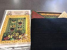 NIP New Jenny Creek Designs Share The Bounty Garden Days Collection Pattern Q23