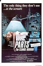 Horreur affiches culte Couvre SciFi obscure JPEG Photo 3 DVD HQ VHS B manche P Q R