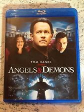 ANGELS & DEMONS BLU-RAY 2009 MOVIE MYSTERY ACTION TOM HANKS (NO DIGITAL)