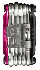 Crank Brothers M17 Multi Tool for Bicycle - 17 Bike Tools - Pink / Black  -- NEW
