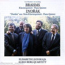 Brahms, Dvorak: Piano Quintet / Alban Berg Quartett, Elisabeth Leonskaja CD Emi