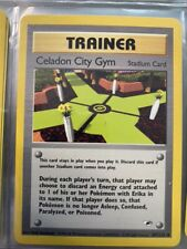 CELADON CITY GYM - Gym Heroes - 107/132 - Uncommon - Unlimited Ed - NM+
