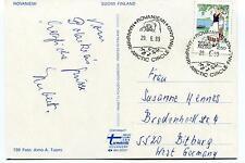 1989 Rovaniemi Suomi Finland Napapiri Polar Antarctic Cover