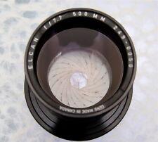 Leitz Elcan 500mm f7.7  #2490050  ............. Rare !!