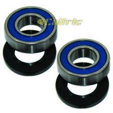 Rear Wheel Hub Ball Bearings & Seals Kit Fits KAWASAKI KX500 1986-1996