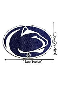 PENN STATE PSU NITTANY LIONS EMBROIDERED LOGO IRON ON & SEW PATCH USA SELLER NEW