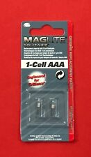"""MAGLITE Solitaire Pack of 2 Bulbs for 1-Cell AAA Torch LK3A001U """"NEW & SEALED"""""""