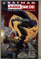 GN/TPB Batman / Judge Dredd The Ultimate Riddle Newsstand variant