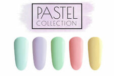 CCO PASTEL COLLECTION UV LED NAIL GEL TOP BASE COLOUR POLISH SOAK OFF FREE P&P