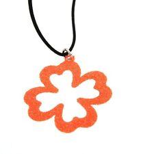 ORIGINAL THY Necklace FLUO Female Four-leaf clover- FLUO4A