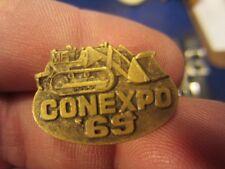 CONEXPO 69 MASSEY FERGUSON LOADER TIE TAC TACK LAPEL PIN PINBACK