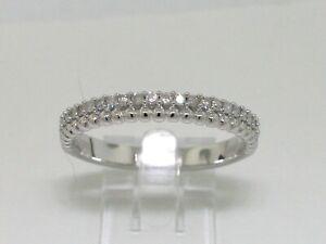Memory Ring Weißgold Gold 24 Diamanten total 0,20ct  Wesselton Bandring