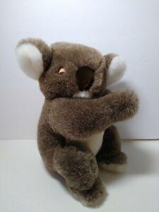 "Dakin Vtg. 1989 Koala Bear 11"" Plush Stuffed Animal Connecting Hands Realistic"