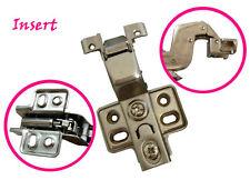 28mm Hydraulic soft close Insert Hinge for Cabinet aluminium frame door
