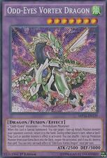 YUGIOH HOLO CARD ODD-EYES VORTEX DRAGON MP16-EN139 1ST EDITION