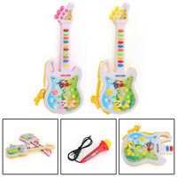Kids Baby Musical Instrument Funny Music Educational Toy Gift Mini Guitar Toy A1