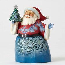 Jim Shore Heartwood Creek Wonderland Santa Oh Christmas Tree I Love Thee 4053676
