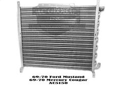 69 70 Ford Mustang Mercury Cougar AC Condenser AC5150 C9ZZ 19712A MADE USA XR7
