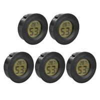 5pcs Mini Hygrometer Thermometer Humidity Meter with Digital LCD Monitor BEST