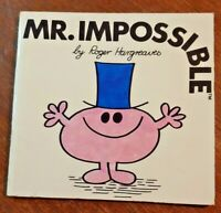 mr. impossible by Roger hargreaves 1980 vintage