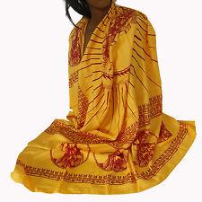 Schal Tuch Lunghi Sarong  Mantra  Benares Dekotuch Vishnu Indien Goa Hippie 18