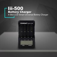 LiitoKala Lii-500 LCD NiMH Lithium 18650 Battery Charger & Tester > New i4 AU