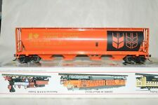 HO Bachmann Government of Canada cylindrical grain covered hopper car train MW