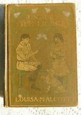 ANTIQUE 1917 LOUISA M ALCOTT UNDER THE LILACS ILLUSTRATED
