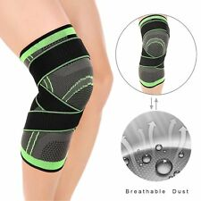 1X 3D Weaving Knee Brace Breathable Sleeve Support for Running Jogging Sports