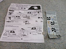 Detail and Scale  decals 1/48 33rd Tactical Fighter Wing F-15A F-15B Eagles P2