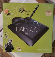 """Wacom """"Bamboo Fun"""" Writing/Drawing Tablet. Mouse and Pen included."""