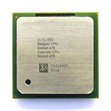 Intel Pentium 4 SL62P 1.80GHz/512KB/400MHz FSB Socket/Sockel 478 Northwood CPU