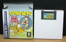 GARFIELD AND HIS NINE LIVES - Game Boy Advance - Italiano - Usato