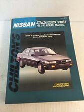 8262 Chilton Repair Manual NISSAN Stanza 200SX 240SX 1982-92