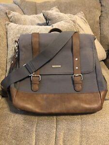 Little Unicorn Marindale Diaper Bag Backpack Gray/Brown Men's Women's diaper bag