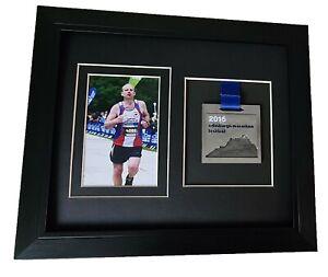 Virtual London Marathon Medal Photo Frame Black