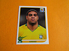 504 ADRIANO BRESIL BRASIL PANINI FOOTBALL FIFA WORLD CUP 2010 COUPE DU MONDE