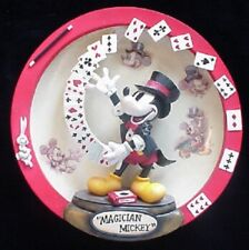 Mickey Mouse Magician Plate in 3-D. Great Graphics!