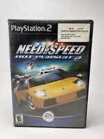 Need for Speed: Hot Pursuit 2 (Sony PlayStation 2, 2002) COMPLETE CIB PS2 TESTED