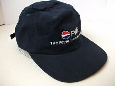 PBG Pepsi Bottling Group Founders Day Hat & Pin Dark Blue Strapback Baseball Cap