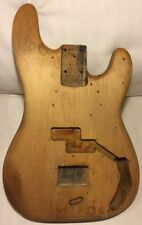 Fender Precision Bass unfinished alder p-bass mid 1970's BODY