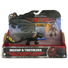 Dragons how to Tame Your Hicks + Toothless Yellow Action Figurines Race the Edge